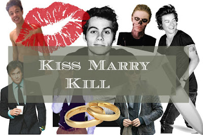 KISS 💋 MARRY 💎 KILL 🔫