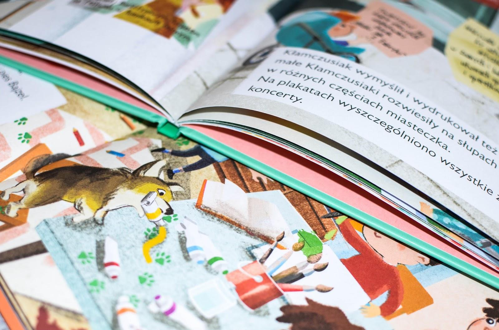 seria Humorki, książki dla przedszkolaków, trudne tematy z przedszkolakiem, kłamstwo, bałagan