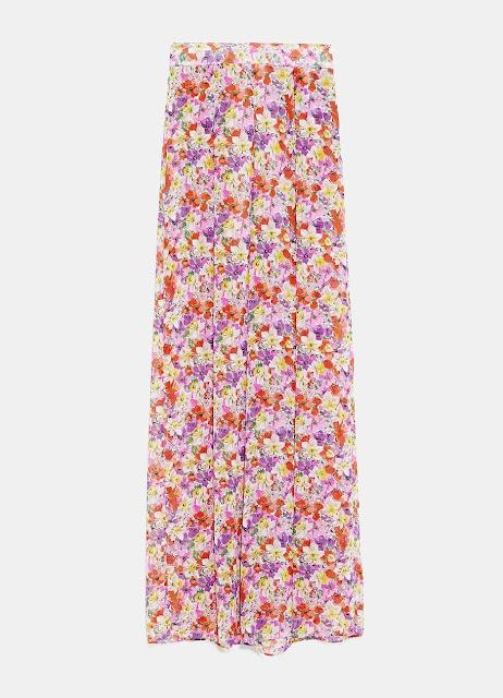 Weite Hose mit Print von Zara