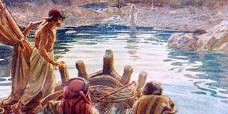 Resultado de imagen para Juan 21,4-5