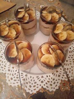 Recette du dessert au caramel et banane