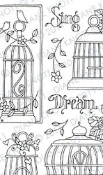 Craft Patterns for digital stamping/scrapbooking and embroidery!