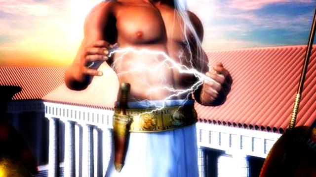 Mitologi Simbol Petir