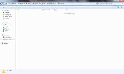 Cara Menyembunyikan File / Folder di PC