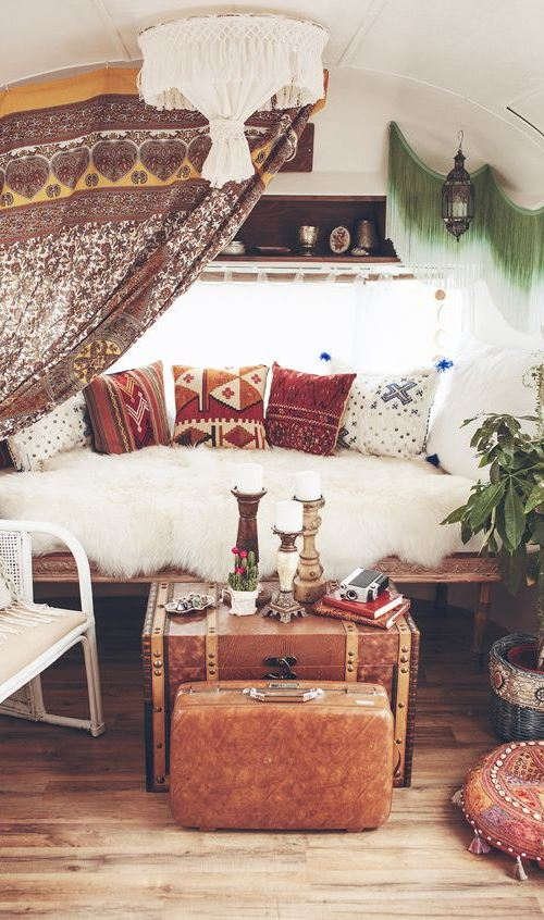 bohemian living room decoration
