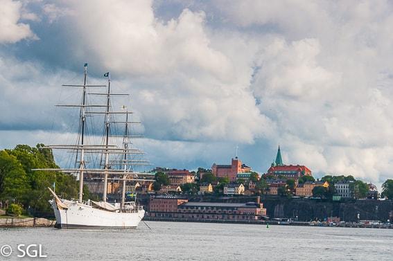 Estocolmo frente al Palacio Real. Estocolmo en imagenes