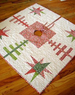 Fine Quilt Inspiration Free Pattern Day Christmas Tree Skirts Easy Diy Christmas Decorations Tissureus