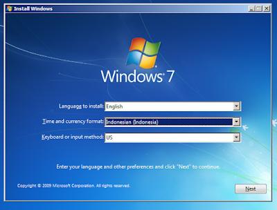 Cara Install Ulang Laptop dan Membuka Bios