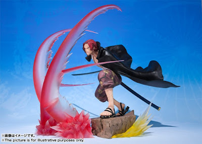 "Figuarts ZERO Chou Gekisen -Extra Battle- Shanks de ""One Piece"" - Tamashii Nations"