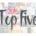 Top 5 Bücher aus 2016!