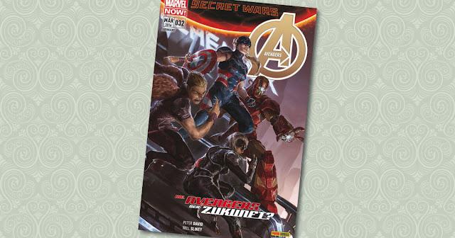 Avengers 32 Panini Cover