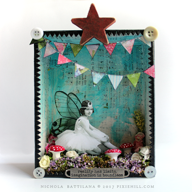 Paper Fairy Shrine - Nichola Battilana