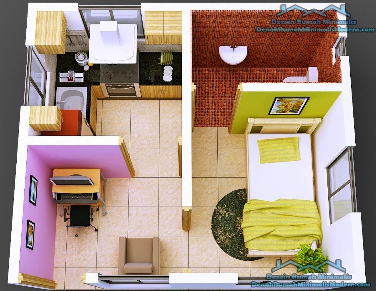 67 Desain Rumah Minimalis 2 Kamar Desain Rumah Minimalis Terbaru