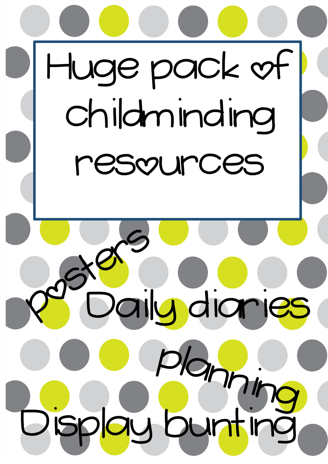 Hundreds Of Digital Preschool Teaching Resources Eyfs Childminder Ofsted