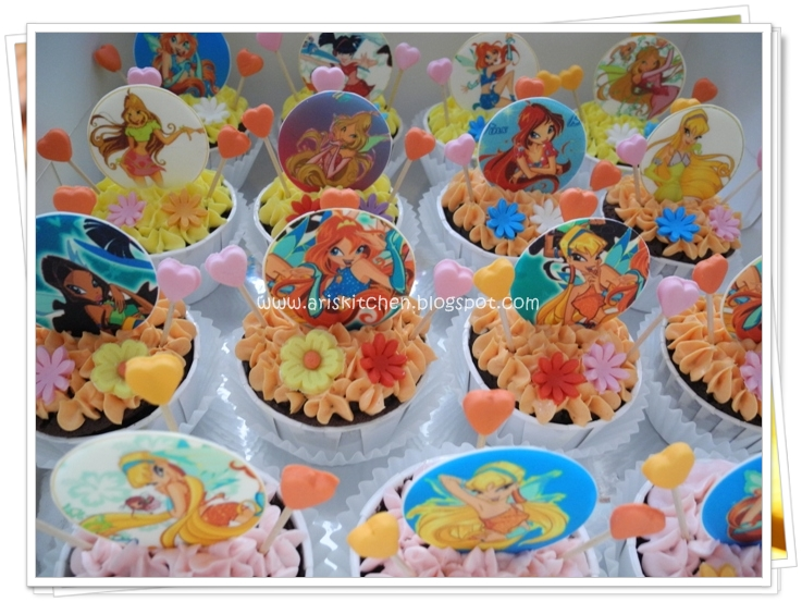 D39angel Cakes Winx Club Cake Theme Cakes Cupcakes And
