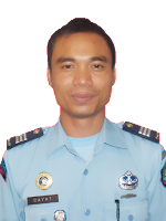 Kepala Subseksi Kamtib Lapas Kelas III Sarolangun