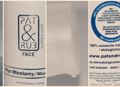 Płyn micelarny , PAT&RUB - recenzja