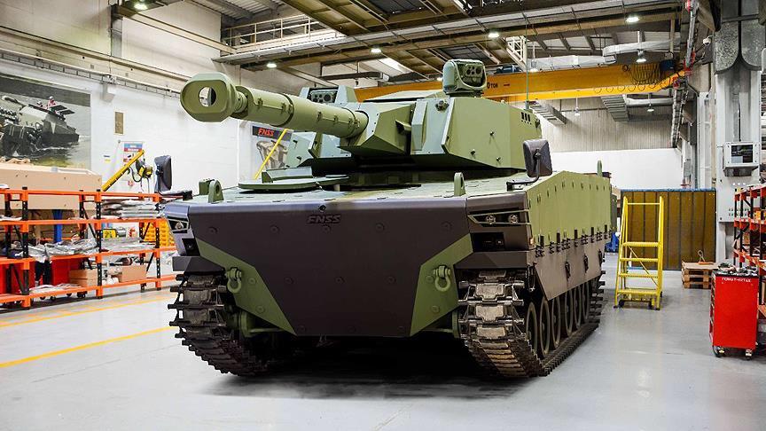 "Turquia apresenta protótipo do novo tanque médio ""KAPLAN MT"""