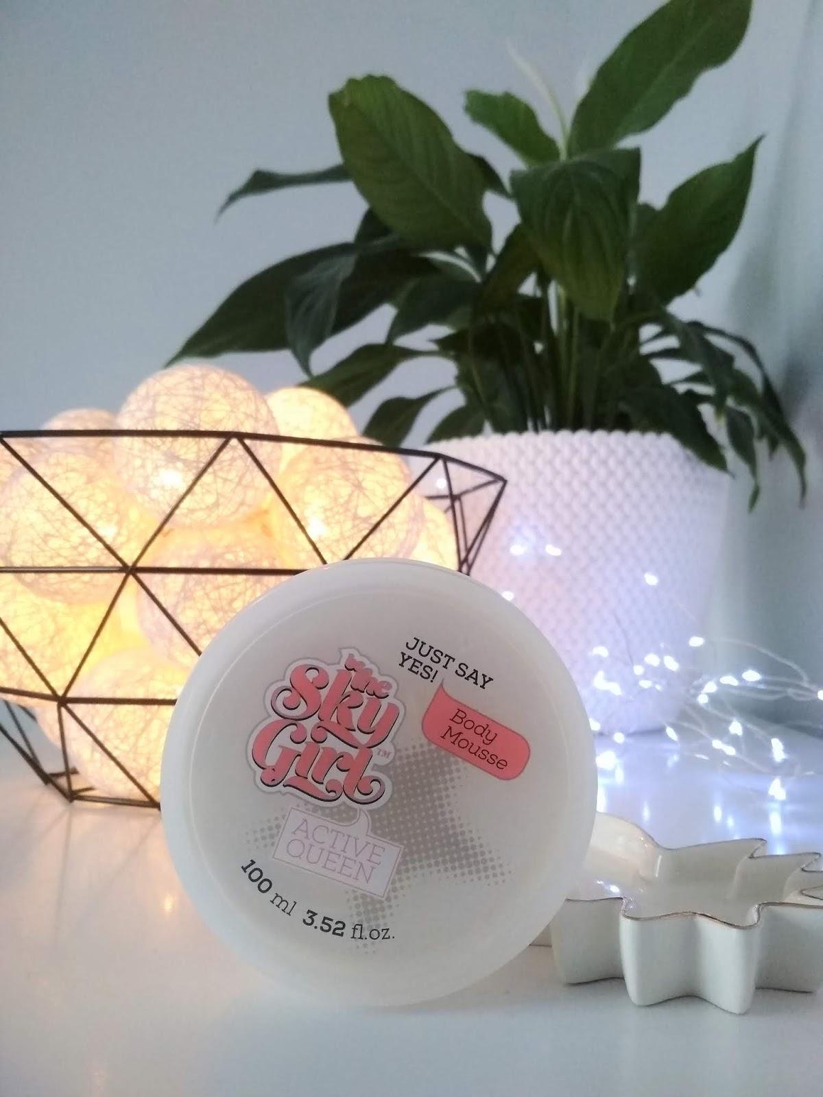 polskie kosmetyki, blog kosmetyczny, blog urodowy, BE THE SKY GIRL Mus do ciała Just Say Yes, recenzja, recenzje kosmetyczne