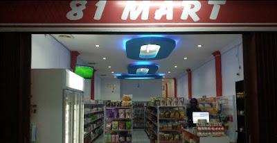 LOKER Kasir/ Pramuniaga 81 MART PADANG JANUARI 2019