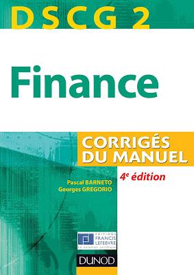 DSCG 2 Finance - Manuel et Applications PDF