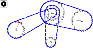 Sistema engranaje con cadena