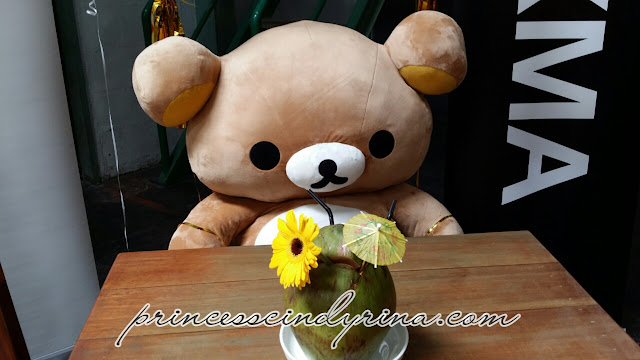 Rilakkuma and coconut drink