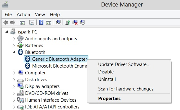 download bluetooth driver windows 10