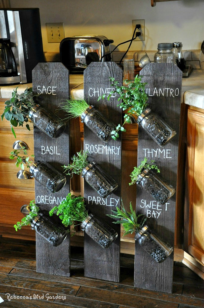 I recently created a DIY vertical garden per the request of a local  magazine. I love how the finished project turned out.  ~ Thought I'd share  the steps.