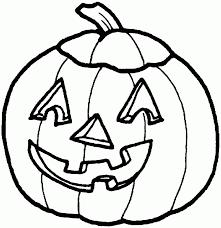 Pumpkin Coloring Pages 1