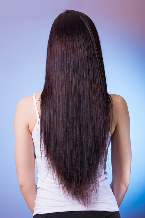 Woman With Long Hair Pixibay Image Showing Beauty of Her Conditioned Hair