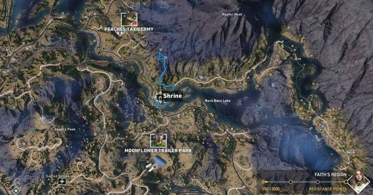 Dtg Reviews Far Cry 5 Shrines Locations Faith Dutch Regions Guide