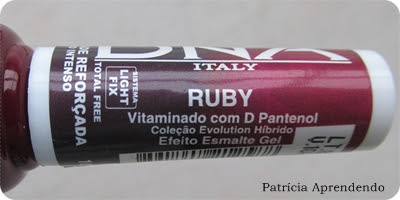 Esmalte DNA Italy Evolution Hibrido Ruby