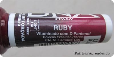 Esmalte DNA Italy Evolution Hibrido Ruby