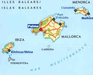 Cartina Geografica Spagna E Formentera.Viaggi Nel Mondo Per Scegliere La Tua Vacanza Spagna