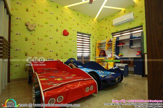Kids room interior 2019