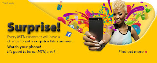 MTN Surprise- Get 5GB Plus 2560 Free Airtime For N2000