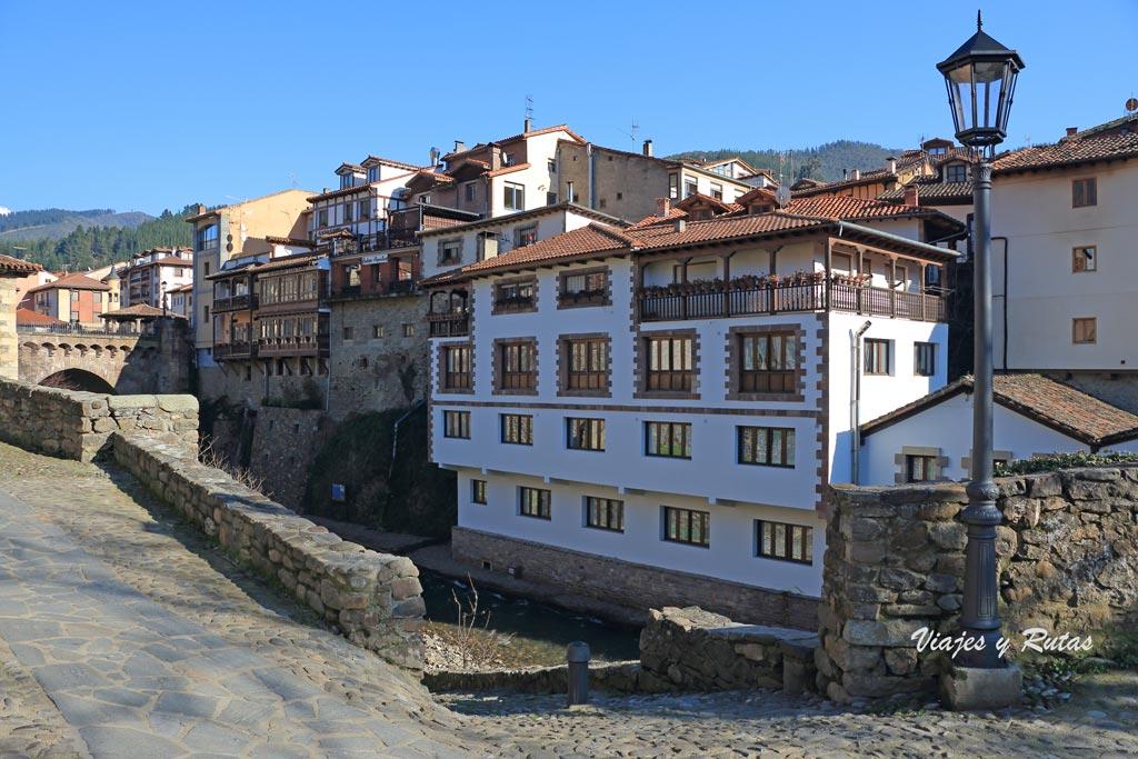 Barrio del sol de Potes, Cantabria
