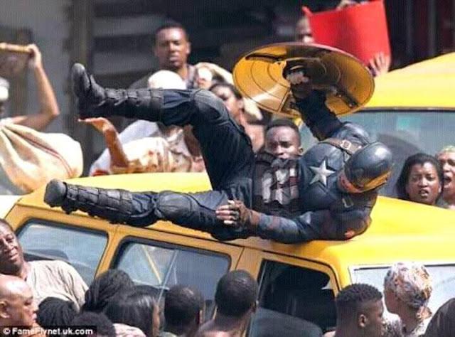 Captain America- Civil War Movie