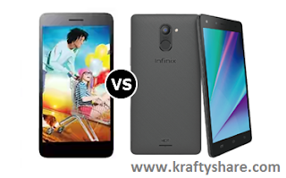 Infinix Hot 4 Pro X556 VS Tecno W5