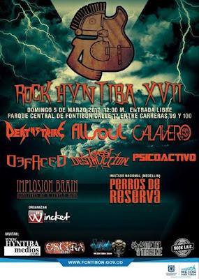 FESTIVAL Rock Hyntiba XVII