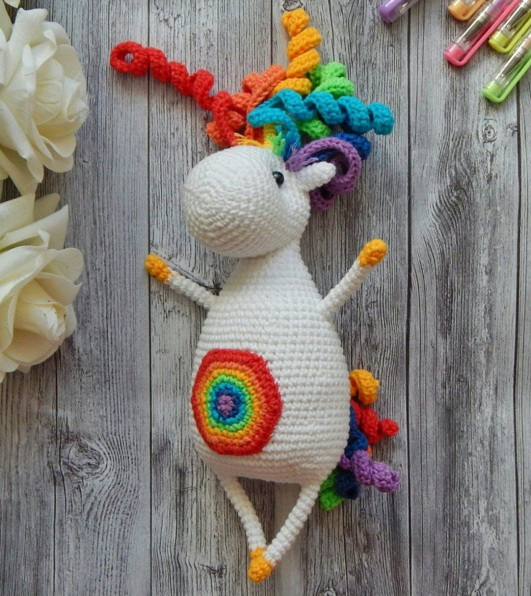 Rainbow Sprinkles the Unicorn | 1190x1060