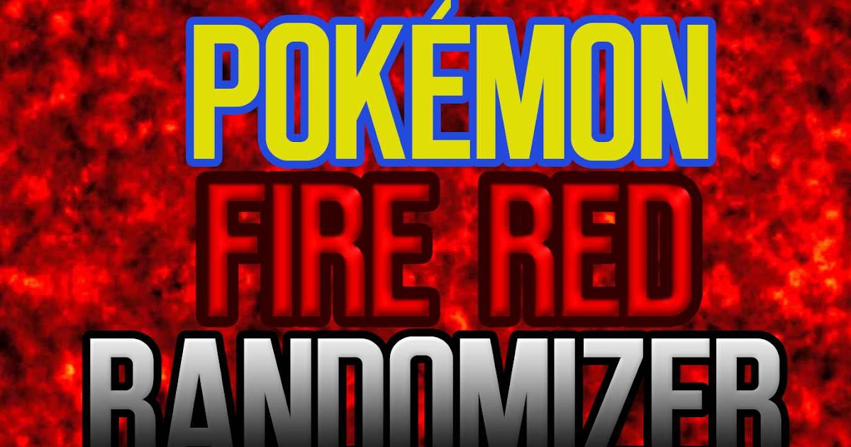 Download Pokémon Fire Red Randomizer [PTBR] DOWNLOAD