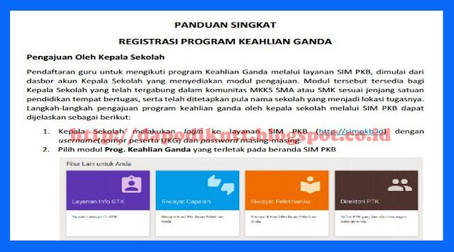 Download Panduan Registrasi SIM PKB Keahlian Ganda