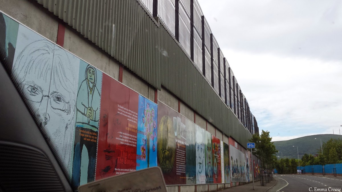 Peace walls - Belfast, Northern Ireland