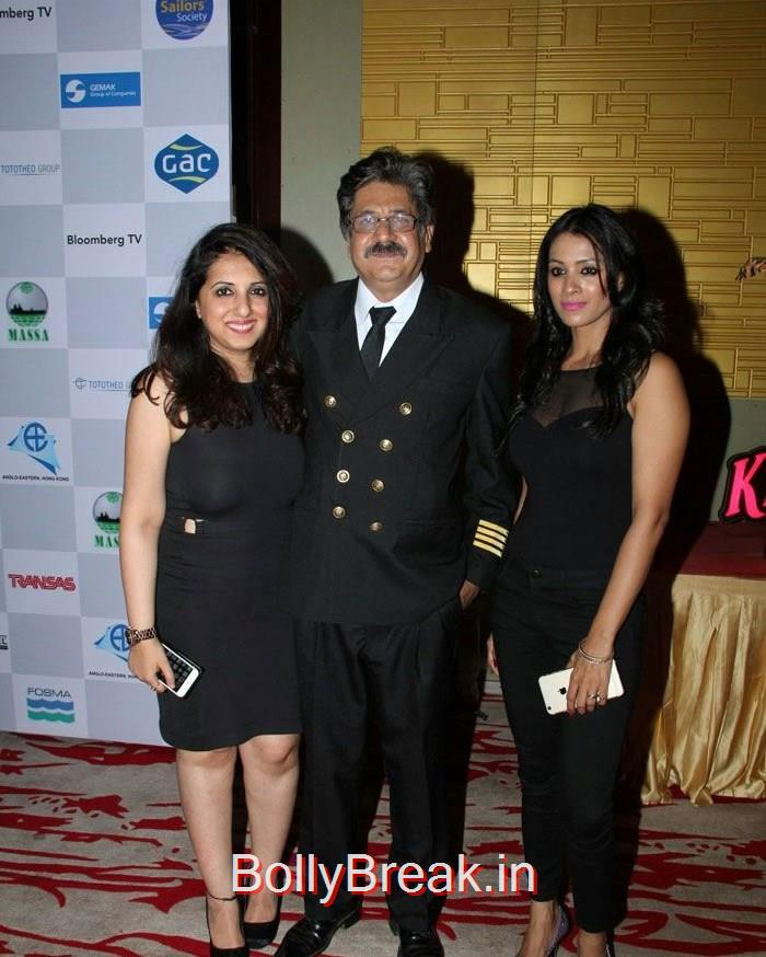 Nisha Khatwa, Sunil Nagiya, Barkha Bisht Sengupta, Celebs At 14th Sailor Today Seashore Awards 2015