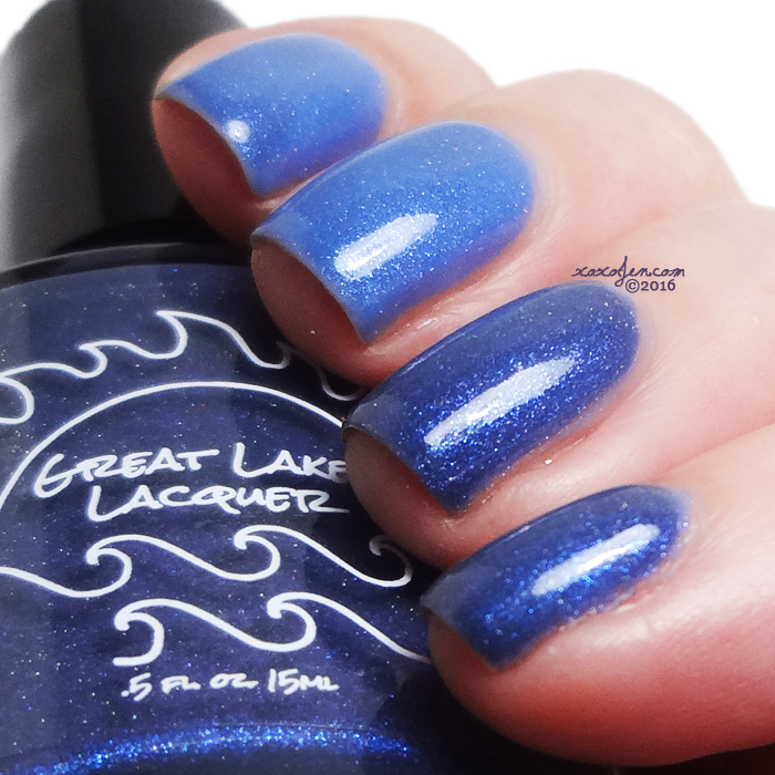 xoxoJen's swatch of Great Lakes Lacquer Fade to Winter