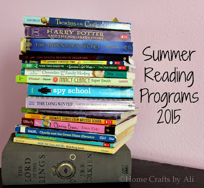 Fun ways to read books during the summer
