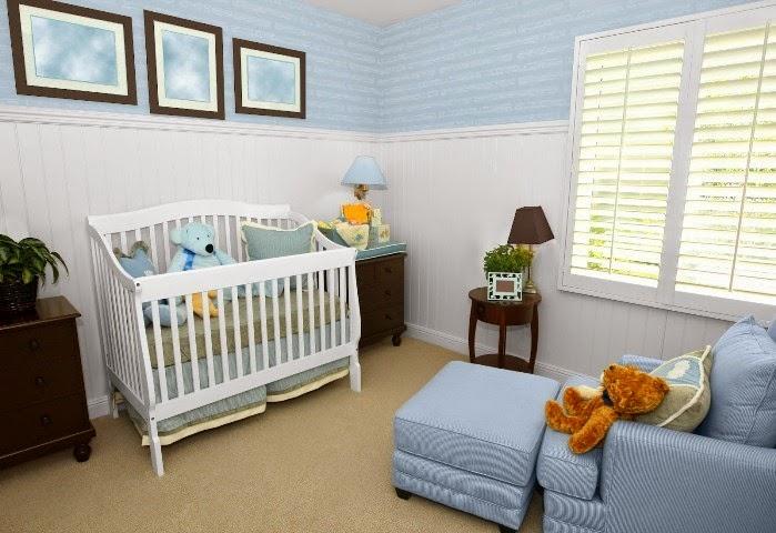 Creative wall painting ideas for baby nursery - Boys room paint ideas ...