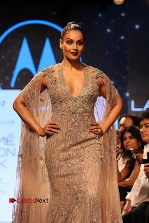 Bollywood Actress Bipasha Basu Walks On Ramp For Fali Shane Pea At LFW Summer 2017  0013.jpg
